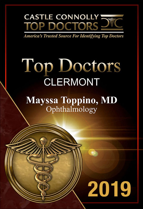 Toppino Eye Care Voted Top Doctor in Clermont