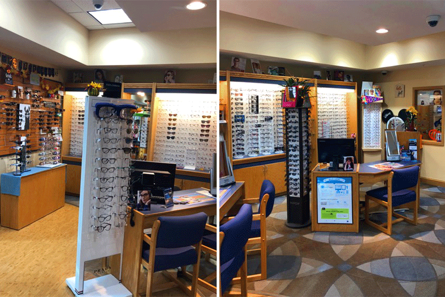 Visit Our Optical Department